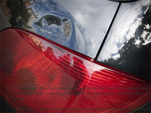 Natomas Auto Body Paintless Dent Removal